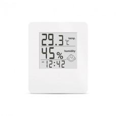 Термо-гігрометр цифрвий з годинником Т-17 (-20С +70С 20%-95%) Склоприлад