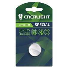 Батарейка CR 2025 LITHIUM BLI 1 ENERLIGHT (1 шт)