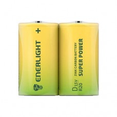 Батарейка D Super Power FOL 2 ENERLIGHT (2шт)