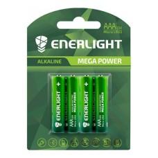 Батарейка AAA MEGA POWER BLI 4 ENERLIGHT (4 шт)