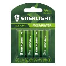 Батарейка AA MEGA POWER BLI 4 ENERLIGHT (4шт)