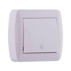 Кнопка дзвінка Lezard DEMET 10A Біла (711-0200-103)