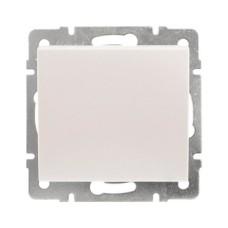 Вимикач 2-клавішний перлинно-білий перламутр RAIN Lezard