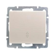 Вимикач прохідний перлинно-білий перламутр RAIN Lezard 703-3088-105