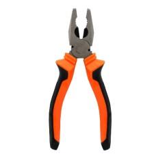 Плоскогубці LEMANSO 7 мм LTL20031 помаранчево-чорні і кусачки для кабелю