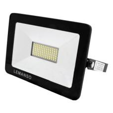 Прожектор LED 50Вт 6500K IP65 3000Lm чорний Посейдон LMP73-50 Lemanso