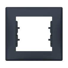 Рамка одинарна Графіт Schneider Sedna (SDN5800170)