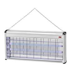 Москітний світильник для знищення комах DELUX 2х20Вт 120м2 AKL-41 (90011590)