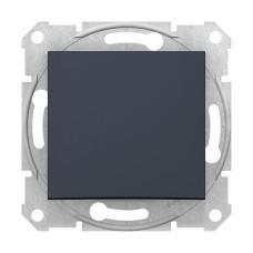 1-клавішний вимикач прохідний Графіт Schneider Sedna (SDN0400170)