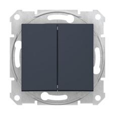 2-клавішний вимикач Графіт Schneider Sedna (SDN0300170)