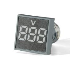 Вольтметр цифровий ED16-22 FVD білий 12-500 В АскоУкрем