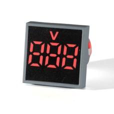 Вольтметр цифровий ED16-22 FVD червоний 12-500 В АскоУкрем