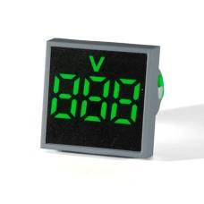 Вольтметр цифровий ED16-22 FVD зелений 12-500 В  АскоУкрем