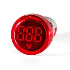 Вольтметр цифровий ED16-22 VD червоний 12-500 В АскоУкрем