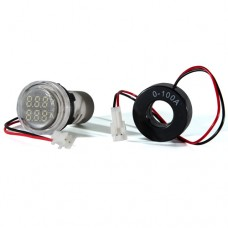 Цифровий вольтметр і амперметр ED16-22 VAD білий 25-500 В, 0-100А АскоУкрем