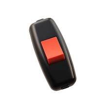 Вимикач для бра Lezard червоно/чорний (715-1121-611)