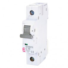 Автоматичний вимикач ETIMAT 6 1p C16A ETI