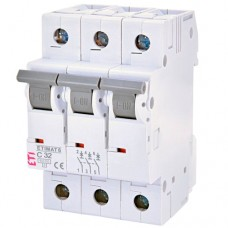 Автоматичний вимикач ETIMAT 6 3p C 32A ETI