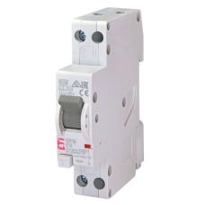 Диференціальний автоматичний вимикач KZS-1M С 6A 30 mA  ETI