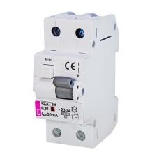 Диференціальний автоматичний вимикач KZS-2M 20A 30 mA  ETI