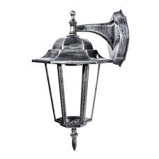 Свiтильник садово-парковий PALACE A002 чорний-срібло Delux