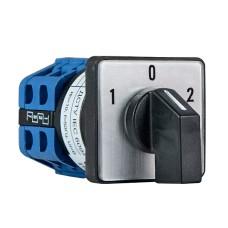Пакетний перемикач ПКП SBI 10А / 2.632 (1-0-2 2 полюса) (A0110010039)