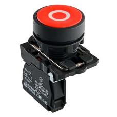 Кнопка TB5-AA4322 СТОП червона Аско Укрем (A0140010151)