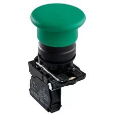 Кнопка TB5-AC31 грибок (d 40 мм) СТАРТ зелена Аско Укрем (A0140010178)