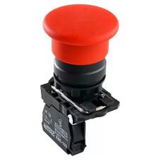 Кнопка TB5-AC42 грибок (d 40 мм) Стоп червона Аско Укрем (A0140010168)