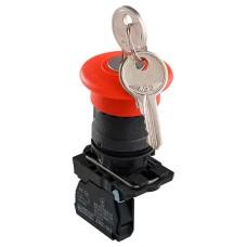 Кнопка TB5-AS142 безпеки. повернення ключем Аско Укрем (A0140010162)
