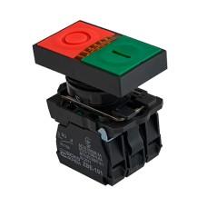 Кнопка TB5-AW8365 подвійна з підсвічуванням Старт/Стоп Аско Укрем (A0140010179)