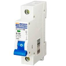 Автоматичний вимикач АСКО-УКРЕМ ВА-2017 1p 50А Тип B (A0010170056)