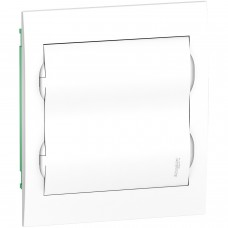Щит врізний 24 модулі 2 ряди з Білою дверкою Easy9 Box Schneider Electric EZ9E212P2F