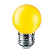 Лампа світлодіодна G45 1W E27 жовта 001-017-0001 Rainbow Horoz