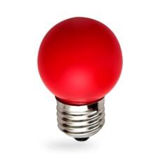 Лампа світлодіодна G45 1W E27 червона 001-017-0001 Rainbow Horoz