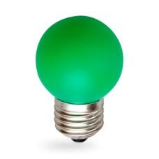 Лампа світлодіодна G45 1W E27 зелена 001-017-0001 Rainbow Horoz
