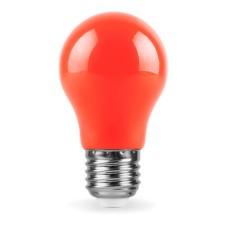 Лампа LED 3W E27 A55 червона 001-017-0003 Spectra Horoz
