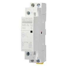 Контактор модульний на Din-рейку MK-N 1P 16A 1NO АскоУкрем (A0040030020)