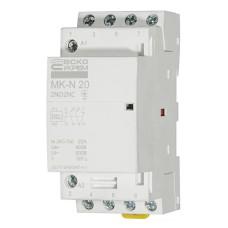 Контактор модульний на Din-рейку MK-N 4P 20A 2NO2NC АскоУкрем (A0040030029)