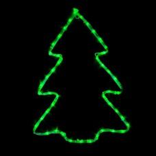 Гірлянда DELUX MOTIF Christmas tree 60*45см 7 flash зелений IP44 EN