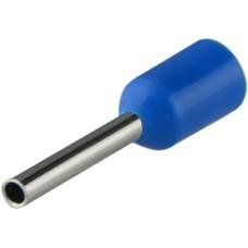 Наконечники НТ 0,5-08 сині (100шт) трубчаті ізольовані Аско Укрем (A0060010054)