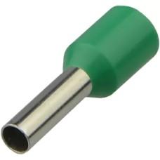 Наконечники НТ 0,75-08 зелені (100шт) трубчаті ізольовані Аско Укрем (A0060010092)