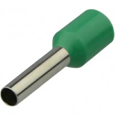 Наконечники НТ 1,5-08 зелені (100шт) трубчаті ізольовані Аско Укрем (A0060010094)