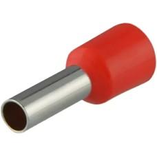 Наконечники НТ 4,0-09 червоні (100шт) трубчаті ізольовані Аско Укрем (A0060010049)