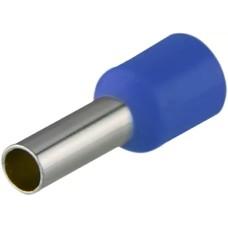 Наконечники НТ 4,0-09 сині (100шт) трубчаті ізольовані Аско Укрем (A0060010057)