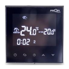 Електронний терморегулятор Profitherm WiFi (Black)