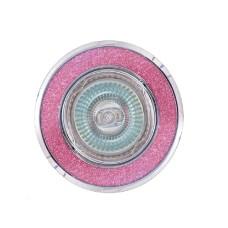 Світильник точковий 611A PL MR16 рожевий АскоУкрем