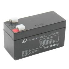 Акумулятор гелевий 12В/1,3Аг LX1213 LUXEON