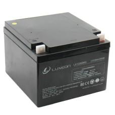 Акумулятор гелевий 12В/26Аг LX1226MG LUXEON
