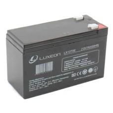 Акумулятор гелевий 12В/7Аг LX1270E LUXEON